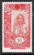 COTE DES SOMALIS N°100 N* - Côte Française Des Somalis (1894-1967)