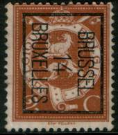 Belgium  2c 1912  Type , BRUSSEL 14 BRUXELLES, Inverted Roller Precancel , No Gum - Precancels