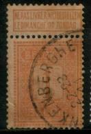 Belgium  1c 1912  Type , Used RARE Label Up,  Roller Precancel - Unclassified