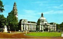 Pays De Galles        Cardiff      The Civic Centre  . - Pays De Galles