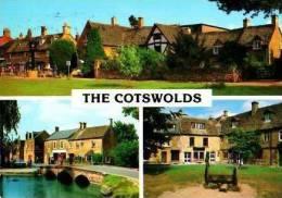 Pays De Galles         Divers. 3 Views The Cotswolds . - Pays De Galles