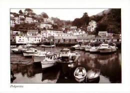 Pays De Galles         Polperro Harbour. - Pays De Galles