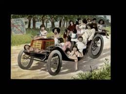 ENFANTS - BEBES MULTIPLES - Tacot - Automobile - - Enfants