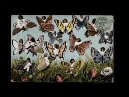 ENFANTS - BEBES MULTIPLES - Papillons - Enfants