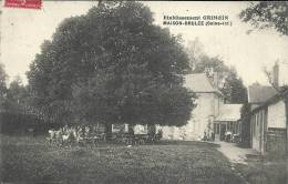 HAUTE NORMANDIE - 76 - SEINE MARITIME -  MAISON-BRULEE - Etablissement Grimoin - Altri Comuni