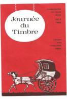 - 244 A - JOURNEE DE TIMBRE - Cartes Souvenir