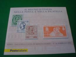 ITALIA REPUBBLICA  - LIBRETTO NUOVO MNH  - 2006 - Mostra Filatelica - Il Regno D'Italia Nei Francobolli - € 0,60 X 4 - 6. 1946-.. República