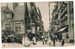 Blankenberghe, Blankenberge, Rue De L'Eglise Vers La Mer (pk5756) - Blankenberge