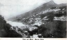 """Cartolina  D´epoca        """"  Vietri Sul Mare - Marina Raito   """" - Salerno"""