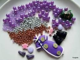 Lot De Diverses Perles Et Apprêts N°4 - Perles