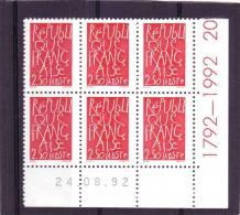 N° 277 - 2,50F JC BLAIS - 24.08.1992 - - 1990-1999
