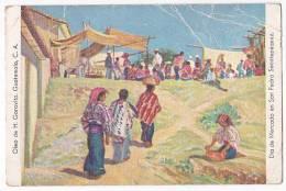 GUATEMALA MERCADO TARJETA POSTAL   ORIGINAL POSTCARD Cpa AK (W3_0194) - Guatemala