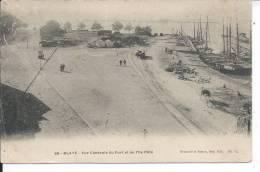 BLAYE - Vue Générale Du Port Et De L'Ile Pâté - Blaye