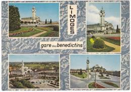 Carte Postale Moderne Non écrite Haute-Vienne 87 - Limoges, Gare Des Bénédictins - Gares - Sans Trains