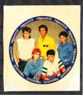 """"""" I Duran  Duran """" -  Ragazza  IN.  Raro Autoadesivo - Foto"""