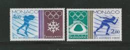 Monaco Timbres De 1984  Neufs** N°1416 Et 1417   Jeux Olympiques - Monaco