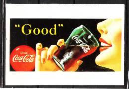 """Autoadesivo   """" Coca  Cola """" - Edizione Panini.  Raro - Coca-Cola"""