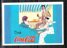 """Autoadesivo   """" Coca  Cola """" - Edizione Panini - Coca-Cola"""