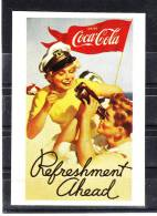 """Autoadesivo   """" Coca  Cola """" - Edizione Panini.  Sticker - Coca-Cola"""