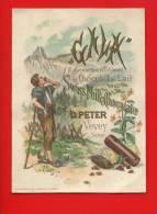 VEVEY GALA PETER JOLIE CHROMO MONTAGNARD MONTAGNE CHOCOLAT MULLER & TRUB - Unclassified
