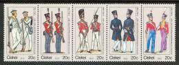 1989 Ciskei Militari Military Armèe Uniformi Uniforms Uniformes Set MNH** -Pa206 - Ciskei
