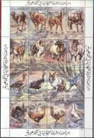 LYBIA -  FARMS - DOGS - COWS - HORSE - RABITT - BIRDS - **MNH - Dogs