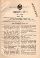 Original Patentschrift - Zündholz - Maschine , 1901 , H. Weeks In Evanston Und Chicago , Streichholz , Streichhölzer !!! - Zündholzschachteln