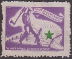ESPERANTO - Propaganda , Labels - Cinderellas - Brazil , Rio De Janeiro - Esperánto