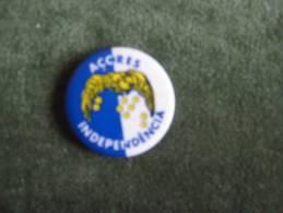 Açores Independência-Boton Pin Da FLA-Frente De Libertação Dos Açores - Sin Clasificación