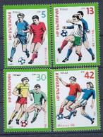 BULGARIE 2942/45 Football Mexico 86 - World Cup