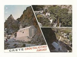 Cp, Crête, Rethymnon, Croutaliotiko Ravine, éMulti-Vues, Crite - Cartes Postales