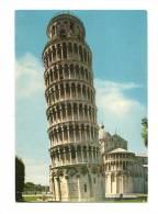 Cp, Italie, Pise, Tour Penchée, écrite - Pisa