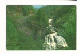 Cp, Etats-Unis, U.S. 64 And Cullasaja Falls, écrite - Etats-Unis
