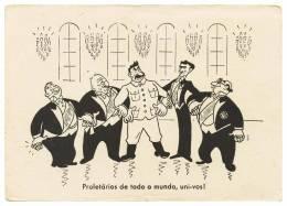 Prolétaires Du Monde Entier, Unissez-vous! Carte Postale - Humor