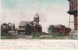 Jamestown ND North Dakota, Hospital For The Insane, Mental Hospital, On C1900s Vintage Postcard - Jamestown