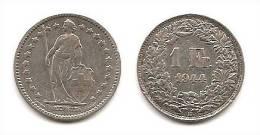 Lot Pièce 1 Franc Suisse Argent 1944 - Svizzera
