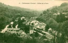 CPA 23 AUBUSSON VALLEE DE LA GARE - Aubusson