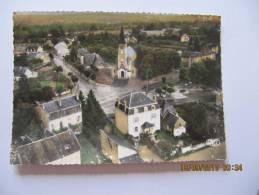 CPSM De DUN LE PALESTEL ( 23 ) L ' église - V Ue Aérienne  ( GUE38 ) - Dun Le Palestel