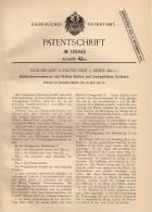 Original Patentschrift - E. Druart In Havre-Ville B. Mons , 1901 , Kolbenwassermesser Mit Beweglichem Cylinder !!! - Machines