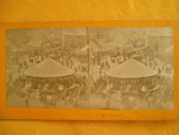 PARIS - FETE DE MONTMARTRE - Stereoscopic