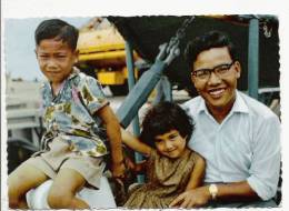 PACIFIQUE ILES GILBERT (KIRIBATI) TYPE DE FAMILLE EVOLUEE - Kiribati
