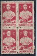 YT Indochine 1944-05x4 NEUF  - N° 268 - Chasseloup Laubat(sans Gomme) - Non Classés