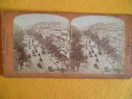 PARIS - N°91 BOULEVARD DES ITALIENS- Photo Stéréoscopique - Panoramic Views