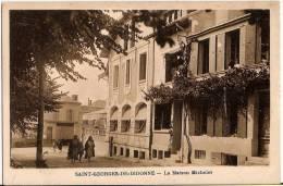 CPA Saint Georges De Didonne  La Maison Michelet St 17 Charente Maritime - Francia