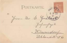 AK Gruss Aus Berlin Privatpost Berliner-Packetfahrt-AG  6.5.1899 - Privatpost