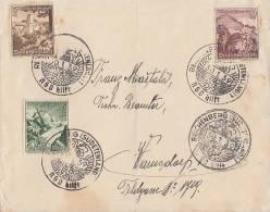 DR Brief Mif Minr.675,678,681 SST Reichenberg (Sudetenland) 30.1.39 - Briefe U. Dokumente