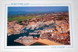 Port Frejus Var 83 Provence - CPSM / CP Belle Vue Aérienne - Frejus