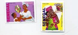 Enfant-hommage à La Mère-Sénégal-série***MNH - UNICEF