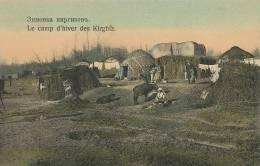 Kirghizistan Le Camp D Hiver Des Kirghiz Winter Camp Of Kirghiz Yourte Edit Taschkent No 25 - Kyrgyzstan