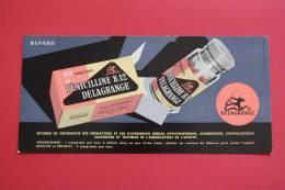 Buvard Pénicilline B 12 Delagrange Produits Pharmaceutique: Pharmacie, Médecine Médecins - Chemist's